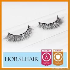 Horse hair false eyelashes, eyelash eyelashes MT017