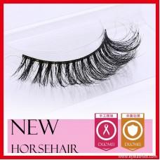 Horse hair false eyelashes, eyelash eyelashes MT036