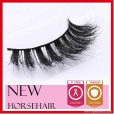 Horse hair false eyelashes, eyelash eyelashes MT019