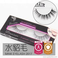 Mink eyelashes, false eyelashes 3DA01