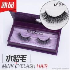 Mink eyelashes, false eyelashes 3DA06