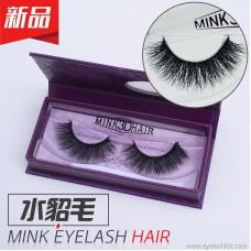 Mink eyelashes, false eyelashes 3DA09