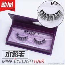 Mink eyelashes, false eyelashes 3DA10