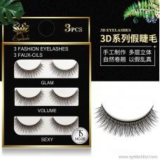3D natural long eyelashes | artificial sharpening temperament models | handmade pairs of false eyelashes manufacturers wholesale