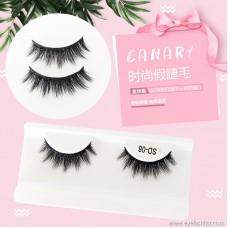 Factory direct wholesale false eyelashes thick black curling thick eyelashes handmade soft and comfortable pair