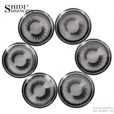 New poetry Di Shangpin 1 pair of false eyelashes Natural high-end eyelashes Cross-border hot sale neutral packaging