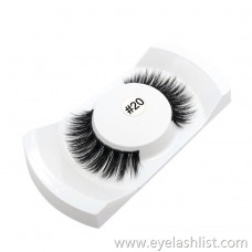 Shi Di Shangpin 3D False Eyelashes Water Mane 1 Pairs Natural Thick Eyelashes Multilayer 3#