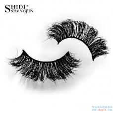 Shi Di Shang Pin Real Water Mane False Eyelashes 2 Pairs High-grade messy curls thick eyelashes