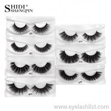 No logo false eyelashes 1 pair of water 貂 hair natural long section eyelashes #3 series cross-border supply