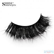 Shi Di Shang Pin Real Water Mane False Eyelashes 1 Pairs Natural messy thick eyelashes beauty tools