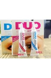DUO false eyelash glue 9G black plastic white glue