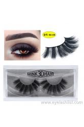 SD exaggerated imitation mink eyelashes 3D stereo 25 thick false eyelashes Europe and America selling mink lashes