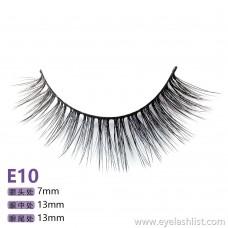 Mane five pairs E10 mink false eyelashes false eyelashes factory source supply