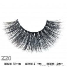 Z20 false eyelashes pair of long false eyelashes handmade eyelashes wholesale 3D stereotyped false eyelashes