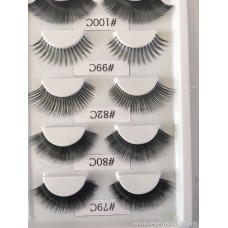 Factory direct love Dell series eyelash model book hand-woven multiple models optional support customization