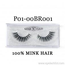 Xin Shi Li 3D False Eyelashes 100% Water Mane Pure Handmade False Eyelashes Cross-border Source DSKU004
