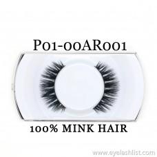 Xin Shi Li 3D False Eyelashes 100% Mink Hair Pure Handmade False Eyelashes P01-00AR001
