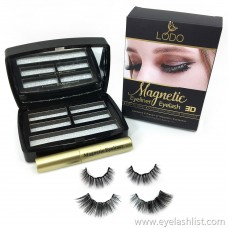 Magnetic Eyeliner Magnetic Eyeliner 2 Pairs Magnet False Eyelashes Magnetic Eyeliner False Eyelashes