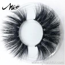 A variety of styles 5D mink hair false eyelashes good quality 3D nude makeup eyelashes Qingdao handmade mink eyelashes