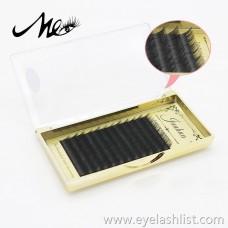 B song 10mm dense row grafting false eyelashes handmade chemical fiber dense row false eyelashes nude makeup single rooting eyelashes