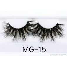 Hongchang 25mm water lash eyelashes Europe and the United States exaggerated cross-border wholesale factory direct supply lashes