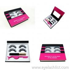 False eyelashes magnetic eyeliner convenient and quick false eyelashes eyeliner liquid magnetic suction large beautiful and durable