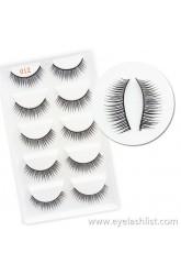 012 Cross-border eyelashes Handmade Five pairs of false eyelashes Natural soft and comfortable eyelashes