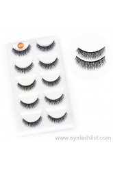 Factory wholesale eyelashes Multi-style Five pairs of false eyelashes Handmade Soft and comfortable